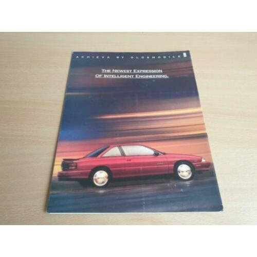 Folder Oldsmobile Achieva, 1992