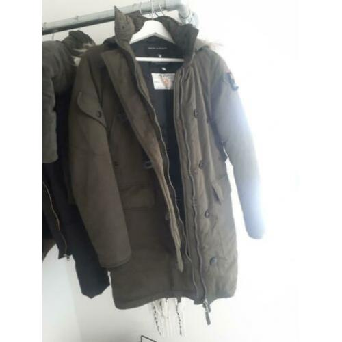 Reunion to blue, brandi, dames parka, armygreen, S, thermo