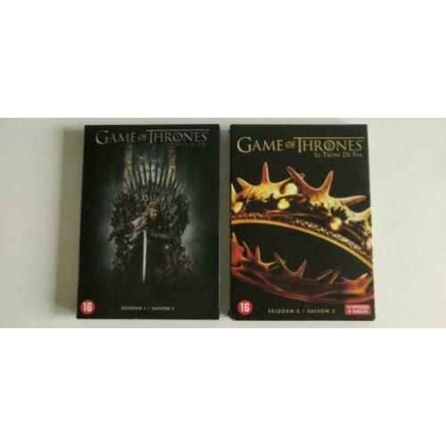 Game of Thrones seizoen 1 t/m 7 op DVD