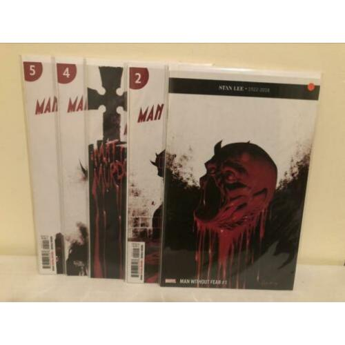 Man without Fear #1-5 (Daredevil)