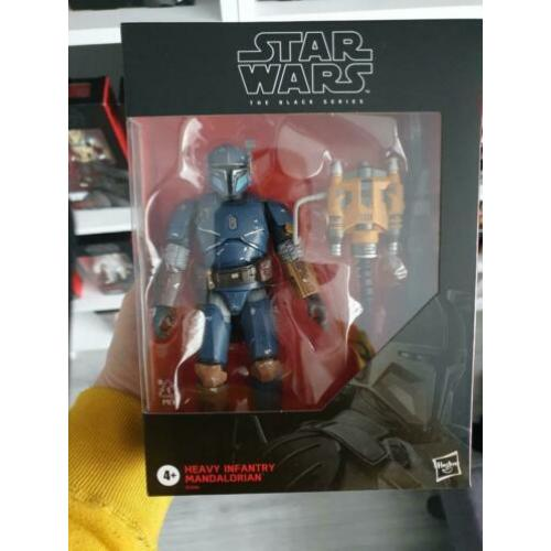 Nieuw The Mandalorian Heavy Infantry #D2 (black series)