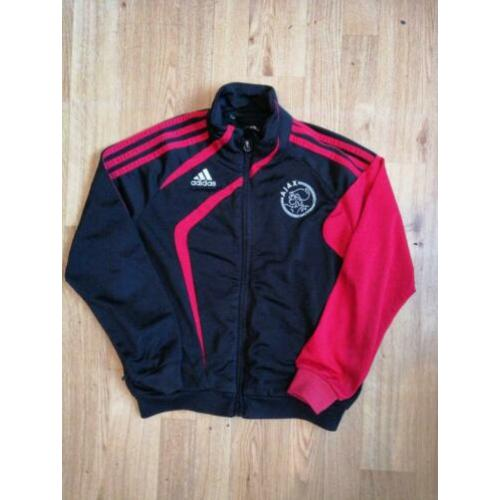 Kinder ADIDAS AJAX Trainings Jack Jas Mt 128 Jasje 7/8 jr