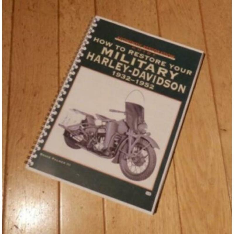 How to restore your military Harley-Davidson (Bruce Palmer)