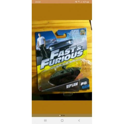 FAST & FURIOUS ripsaw tank