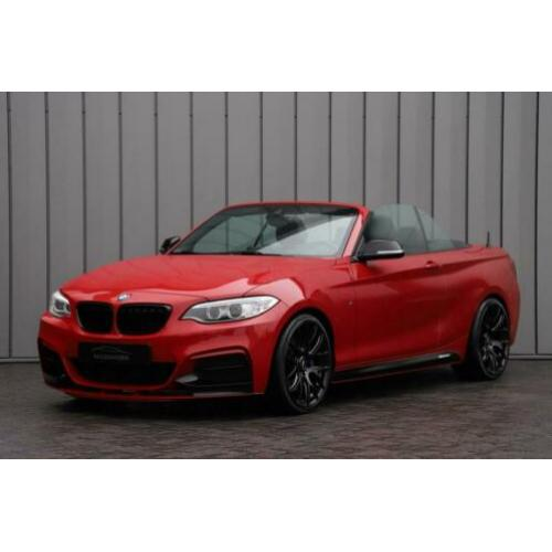BMW 2 Serie Cabrio M235i High Executive Aut Navi-proff Leder