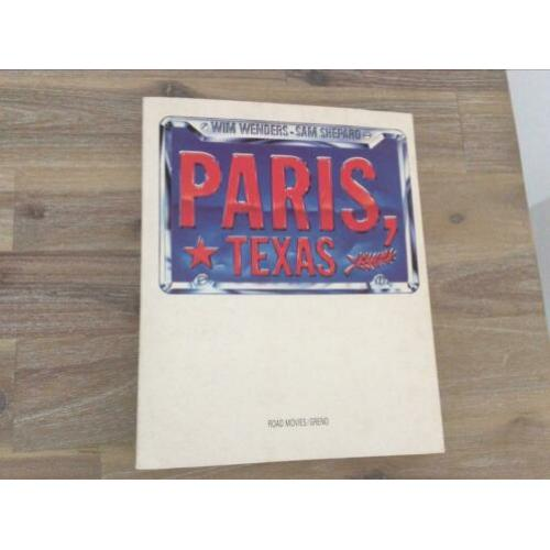 Paris Texas boek Sam Shepard