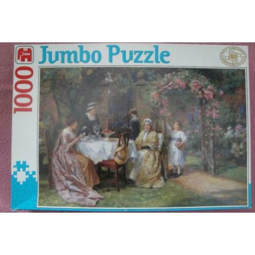 JUMBO QUALITY FULLY INTERLOCKING PUZZLE 1.000st.3.50euro