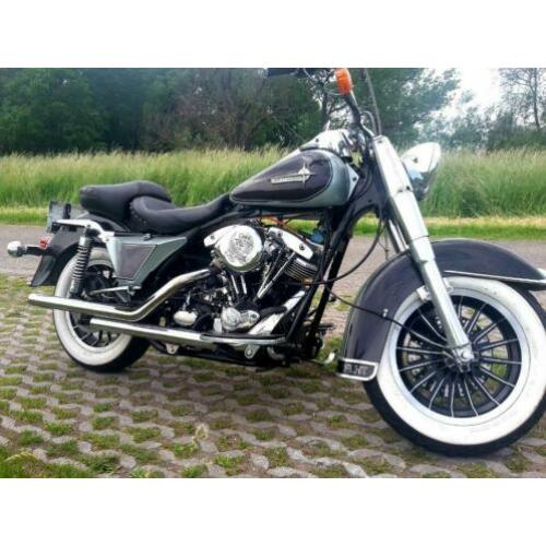 Shovel 1340 tourglide