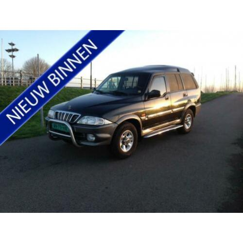 SsangYong Musso 2.9 TDL hoog Bj 2003 airco export 4x4