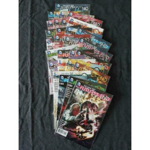 The New 52: Futures End #1-28 & 30 (DC 2014)